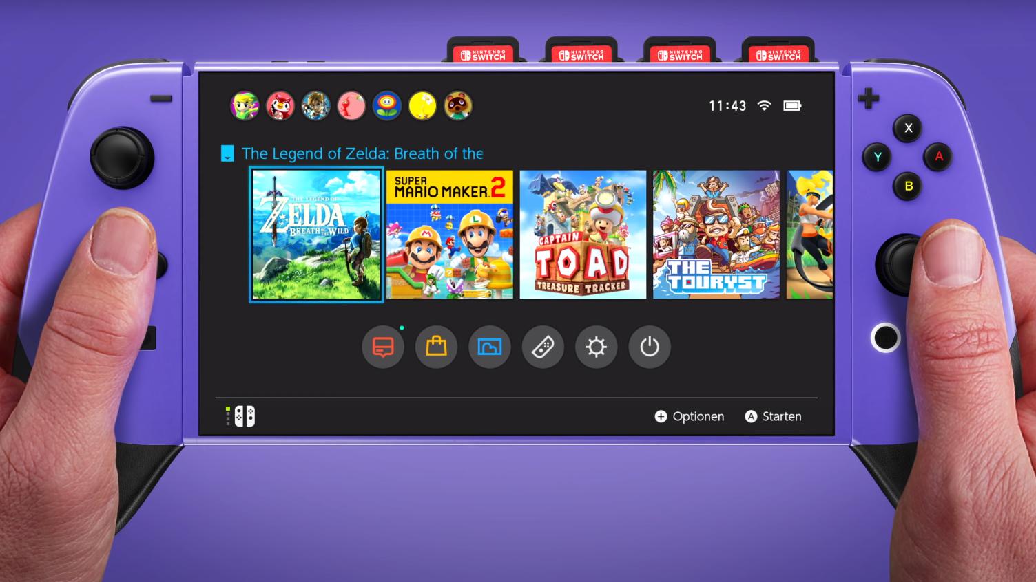 Nintendo может показать свою портативную консоль нового поколения Switch Pro уже на этой неделе