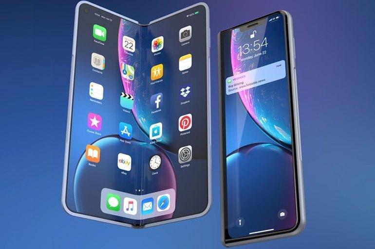Первый сгибающийся iPhone получит поддержку стилуса