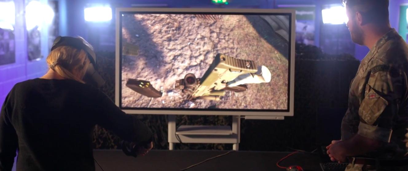 Британские солдаты начали учиться воевать в виртуальной реальности