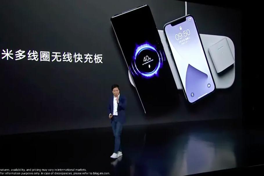 Xiaomi выпустила беспроводную зарядку сразу для трёх устройств раньше Apple