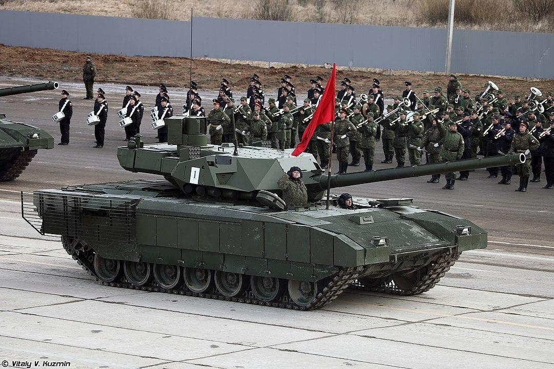 Российский танк «Армата» признали одним из лучших
