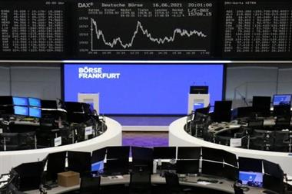 Европейские акции упали с рекордных максимумов после заседания ФРС