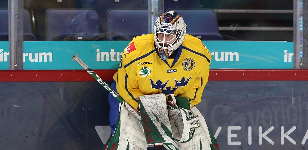 28 сэйвов Рейдеборна помогли шведам одержать первую победу на ЧМ-2021