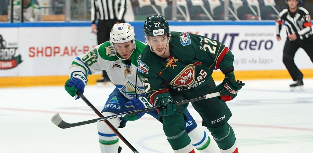 Галиев принес «Ак Барсу» победу во втором матче серии