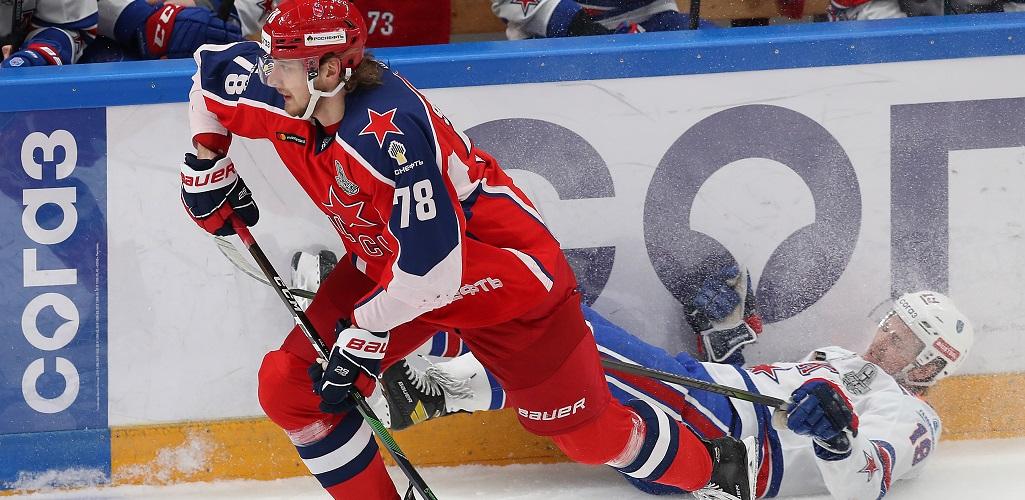 ЦСКА выиграл второй матч финала Запада, Юханссон вновь сделал «сухарь»