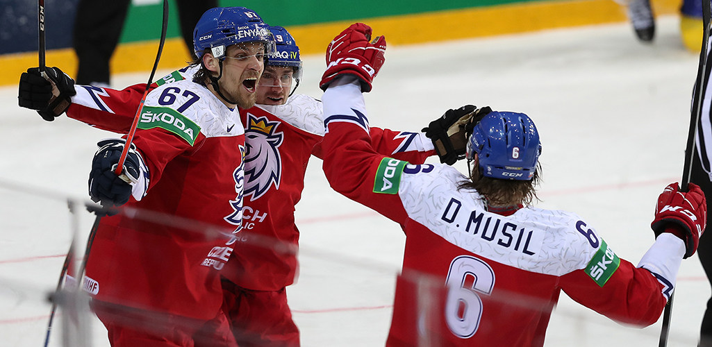 Чехия в серии бросков обыграла Данию и вернулась в зону плей-офф