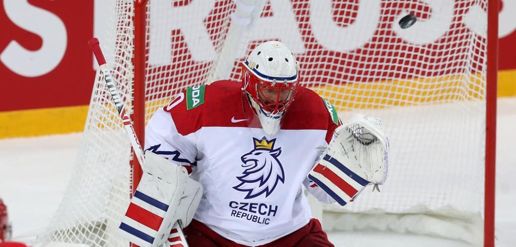 Грубец помог Чехии одержать первую победу