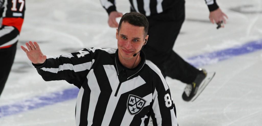 Никита Шалагин — о том, что это такое: счастье хоккейного судьи