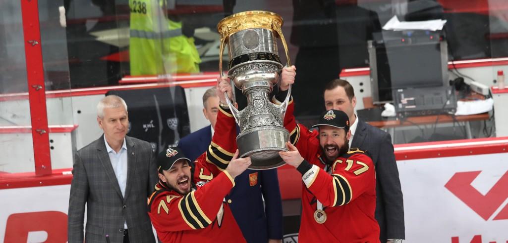 «Авангард» выиграл Кубок Гагарина!