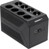 Ippon Back Comfo Pro II 1050: линейно-интерактивный ИБП с большим количеством выходных розеток