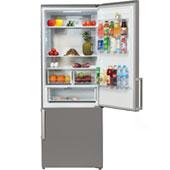 Hyundai CC4553F: широкий холодильник с ящиками для фруктов, овощей и свежих продуктов