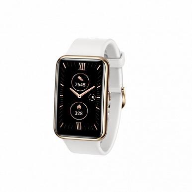 Kirin A1, GPS, SpO2 и до двух недель без подзарядки: представлены умные часы Huawei Watch Fit Elegant