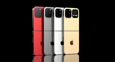 Раскладушку iPhone Flip показали на качественных изображениях и видео