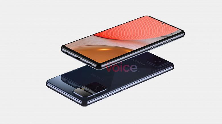 Так выглядит потенциальный хит Samsung. Galaxy A72 5G на огромных рендерах от надежного источника