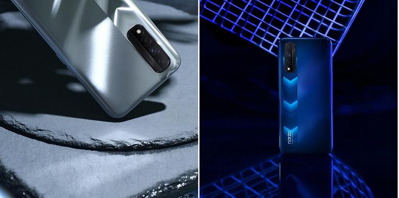 Realme показала новый смартфон. Живые фотографии Narzo 30