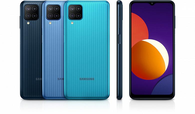 В России стартовали продажи дорогой версии Samsung Galaxy M12