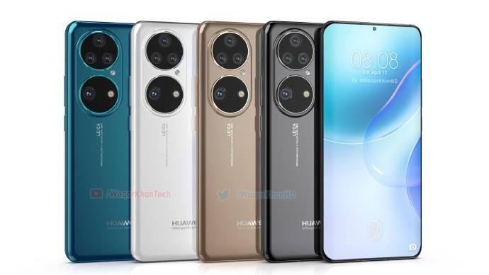 Безоговорочный флагман под управлением HarmonyOS 2.0 и с камерой Leica. Huawei P50 Pro показали на качественных рендерах