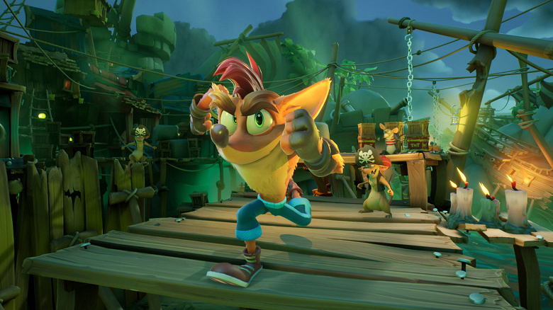 Crash Bandicoot выходит на PlayStation 5 и Xbox Series X