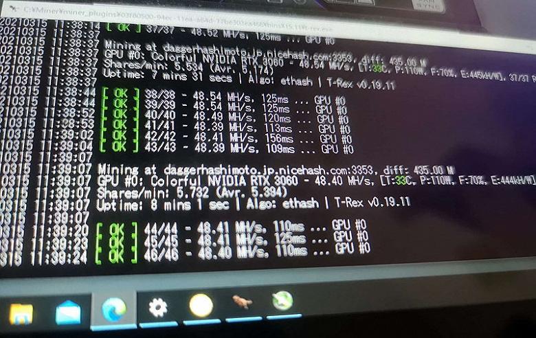 Ограничения на майнинг GeForce RTX 3060 сломали дважды: сначала майнеры, а потом и сама Nvidia