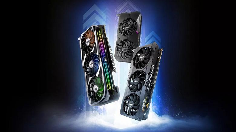 Asus: из-за дефицита графических процессоров Nvidia поставки видеокарт упали на четверть