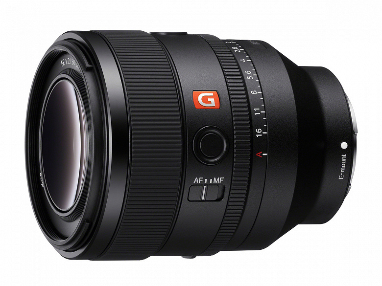 Представлен объектив Sony EF 50mm F1.2 GM