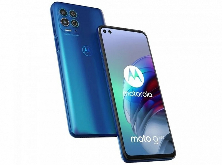 Первый флагман среди долгожителей Motorola. Представлен смартфон Moto G100