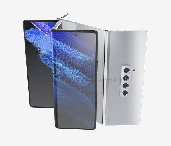 Форм-факт смартфонов снова меняется. Так может выглядеть Samsung Galaxy Z Fold 3