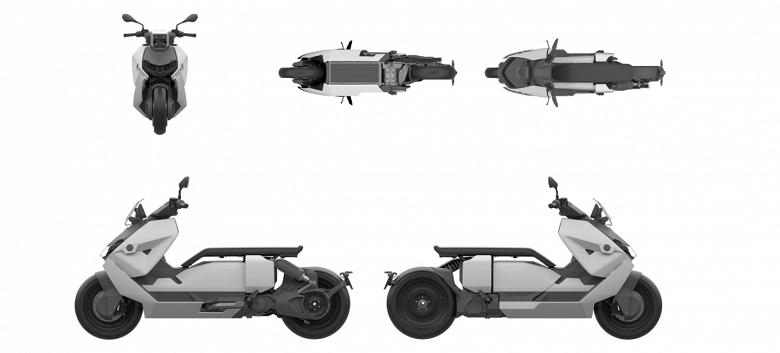 BMW выпустит электрический скутер с дизайном из фантастических фильмов