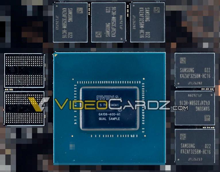 Магия 8 нанометров. Графический процессор GA106 видеокарты GeForce RTX 3060 оказался почти вдвое меньше предшественника