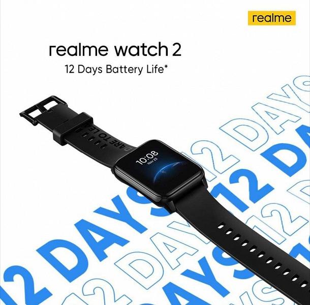Очень доступные умные часы с пульсоксиметром, хорошей автономностью и огромным количеством режимов тренировок. Realme Watch 2 на первом видео