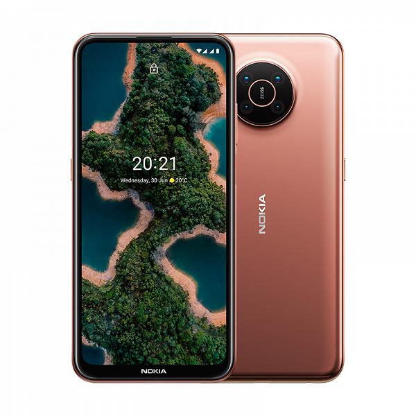 Комплектация смартфона Nokia X20 для России включает зарядное устройство