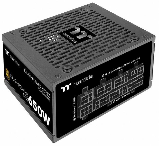 Серия Thermaltake Toughpower SFX Gold - TT Premium Edition включает блоки питания мощностью 450, 550 и 650 Вт