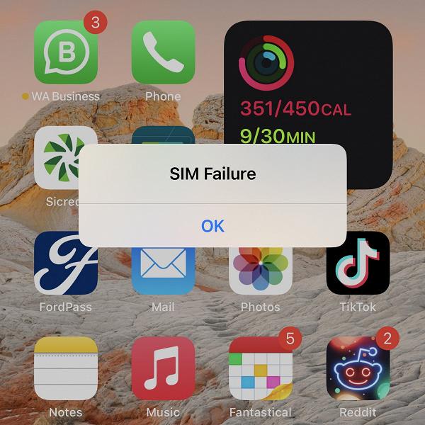 Новейшая бета-версия iOS 14.7 вызывает ошибку карты eSIM на новых iPhone