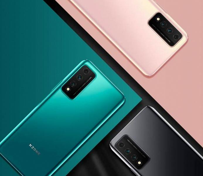 90 Гц, 4000 мА·ч, 40 Вт и 64 Мп за 355 долларов. Представлен NZone S7 Pro 5G – первый смартфон нового бренда Huawei