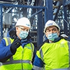 Министр Посаженников посмотрел, как строится новый завод в Омске