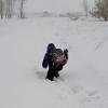 Прокуратура проверит сугробы, по которым дети в Омской области пробираются в школу