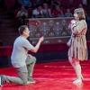 Омич сделал предложение своей девушке в цирке
