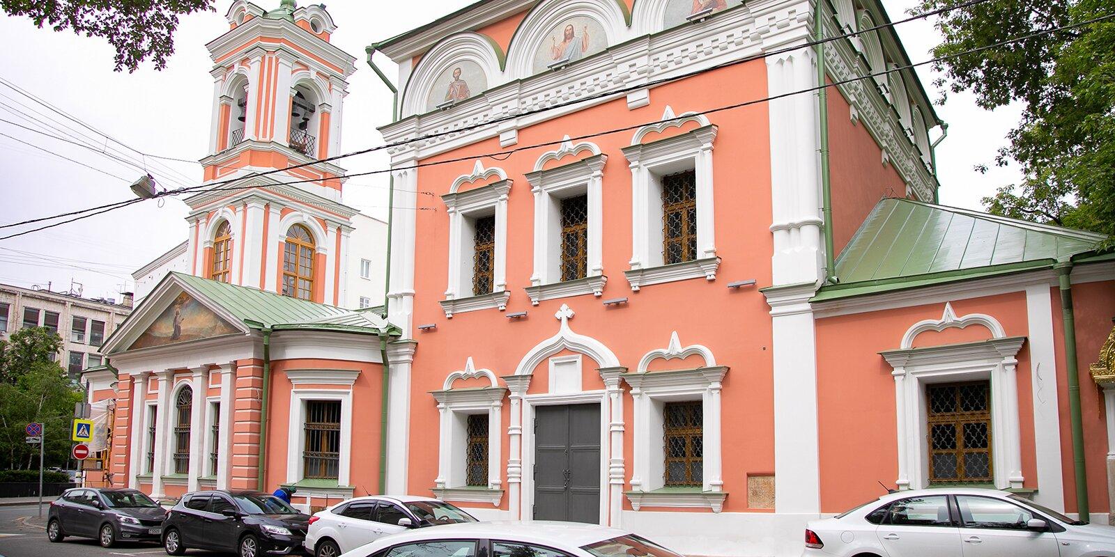 Реставрация церкви Воскресения Словущего на Успенском Вражке завершится в 2022 году