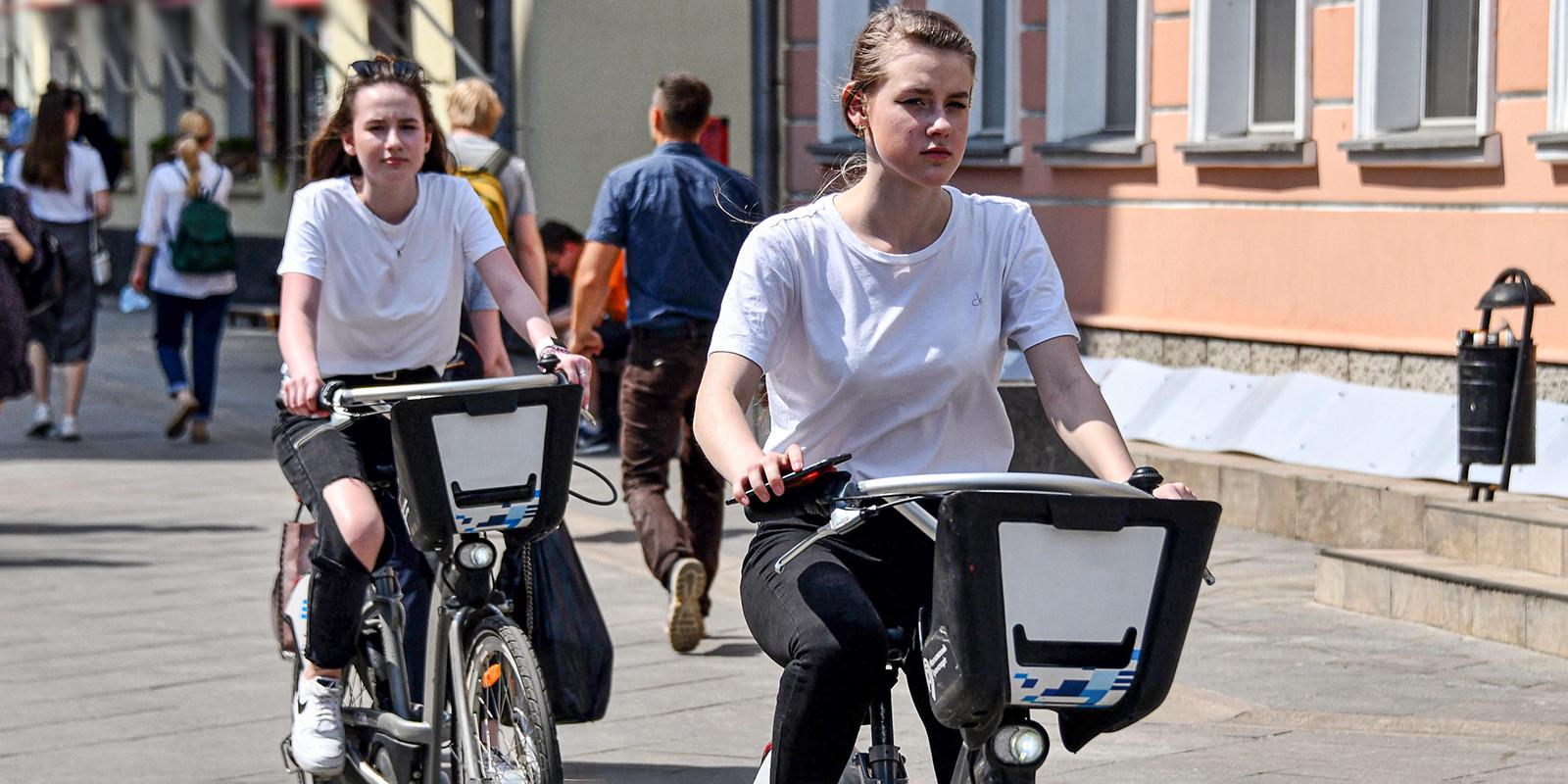 С начала сезона услугами городского велопроката воспользовался один миллион человек