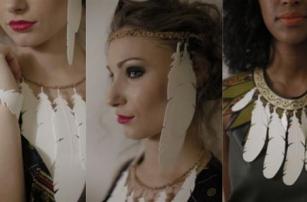 Модная коллекция «Mama Africa» объединяет в себе африканские мотивы и 3D-печать