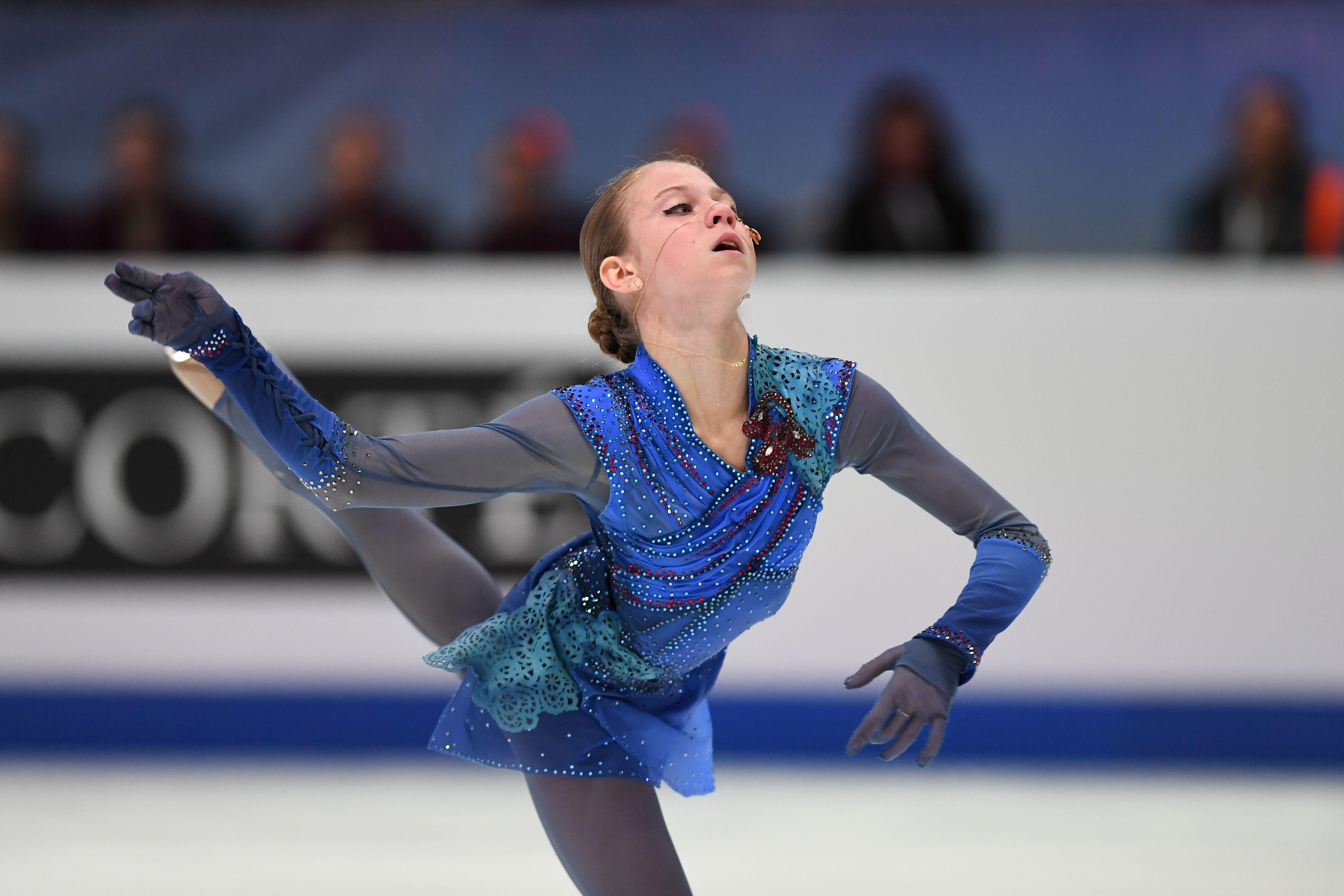 Трусова планирует исполнить три четверных на чемпионате мира, Щербакова - только один