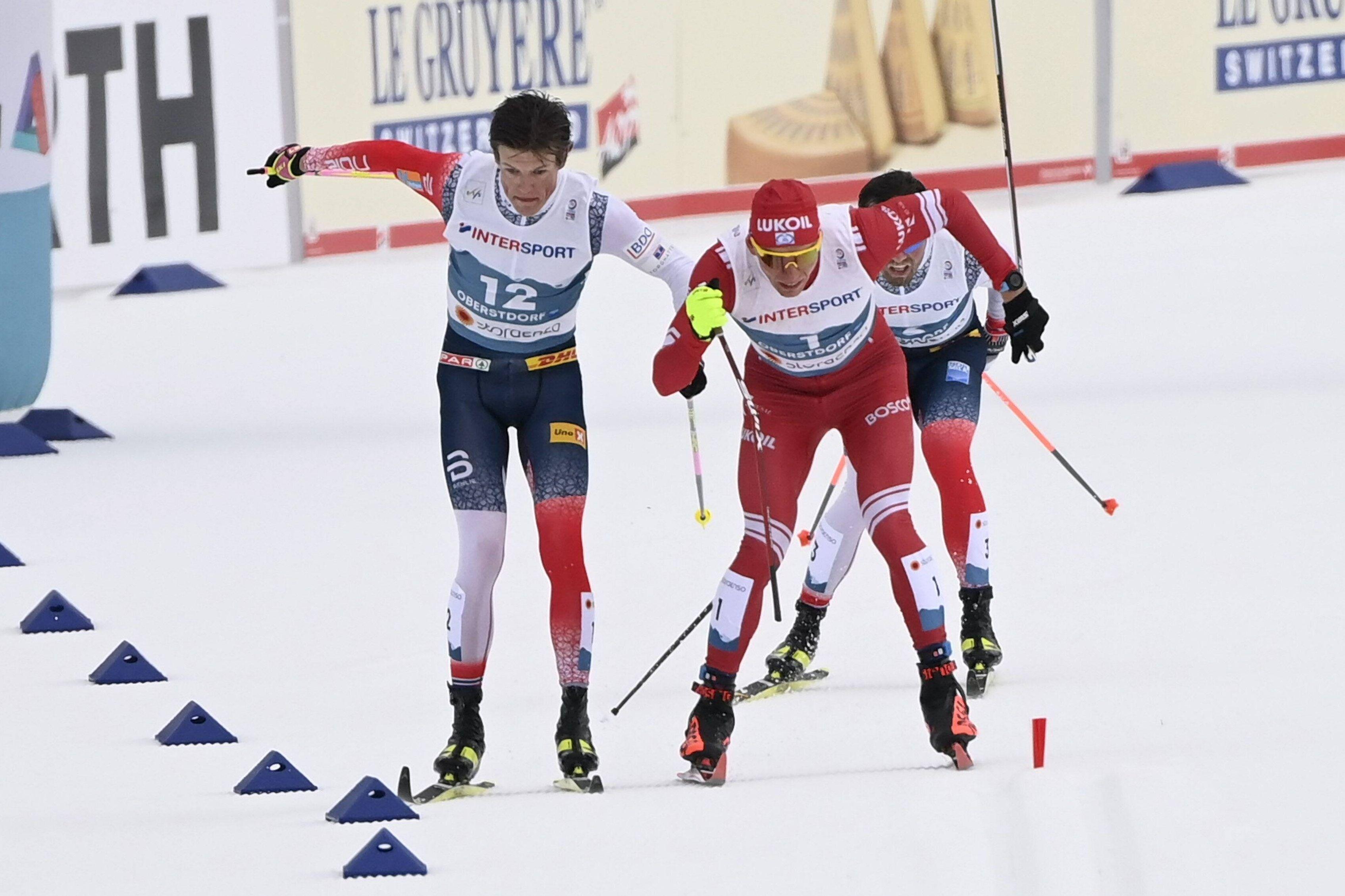 Иродов считает, что Клебо был способен победить Большунова в марафоне на ЧМ, если бы не было нарушений