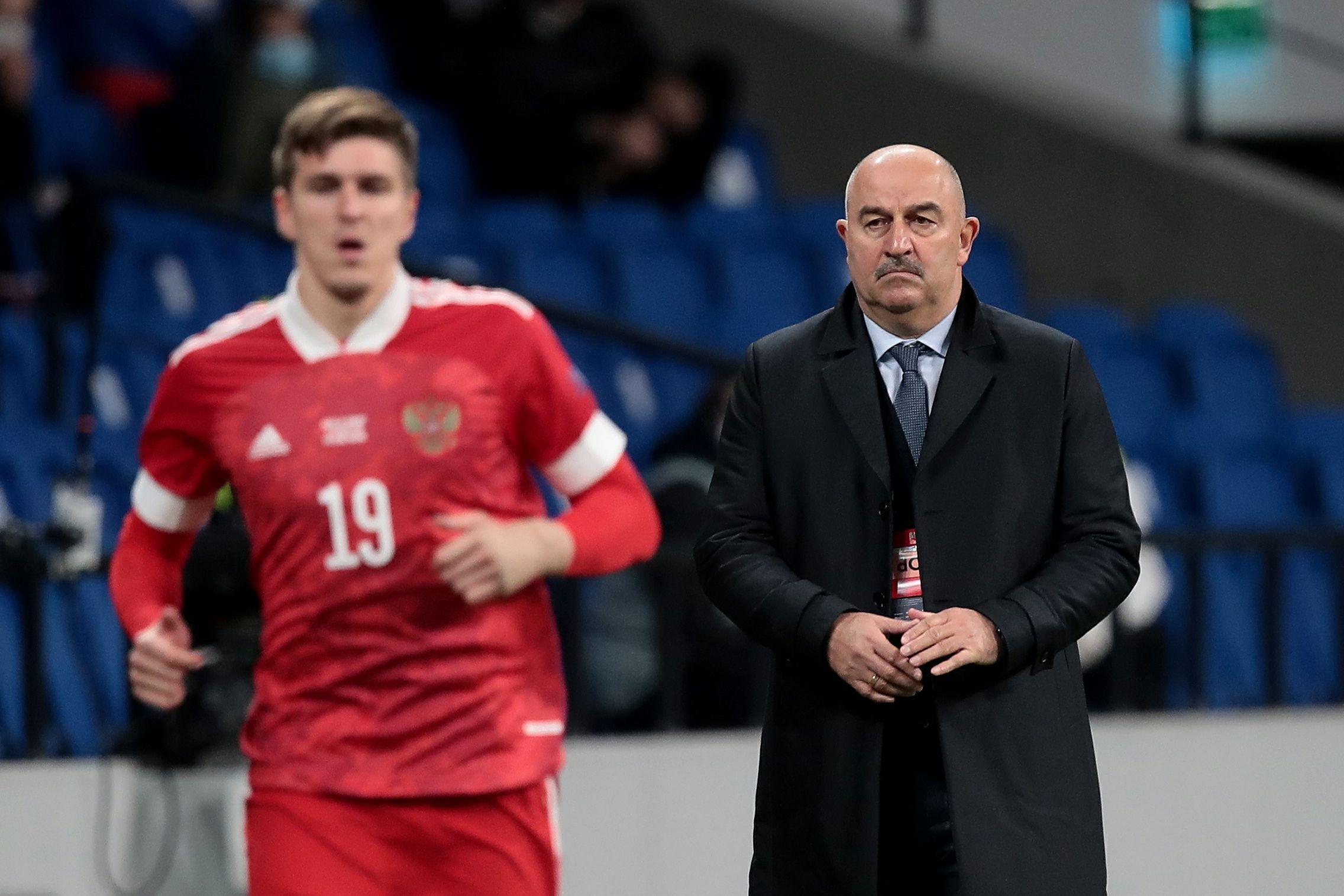 Футбол, Чемпионат мира-2022, отборочный турнир, Россия - Словения, прямая текстовая онлайн трансляция