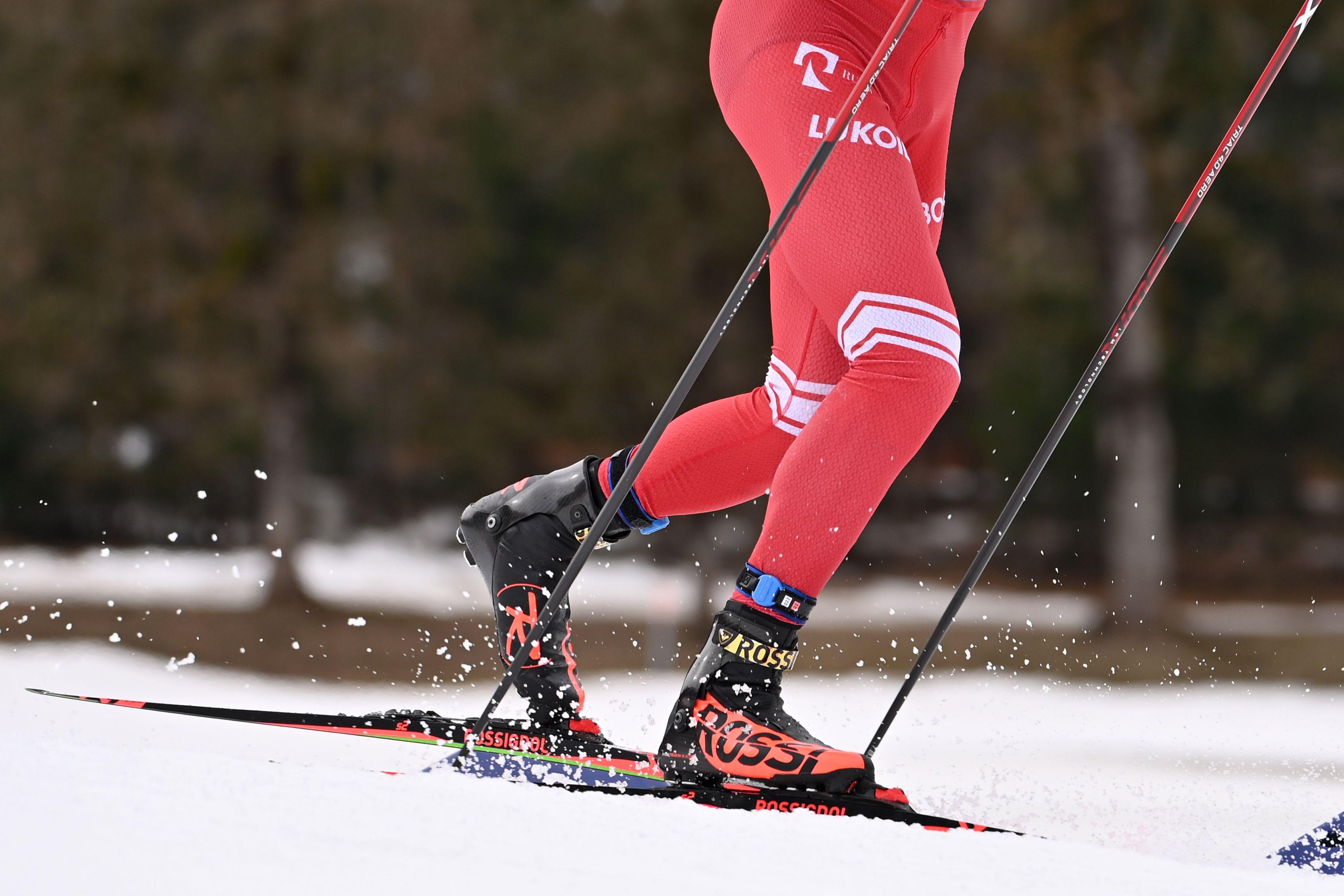 На чемпионате России по лыжным гонкам произошёл скандал