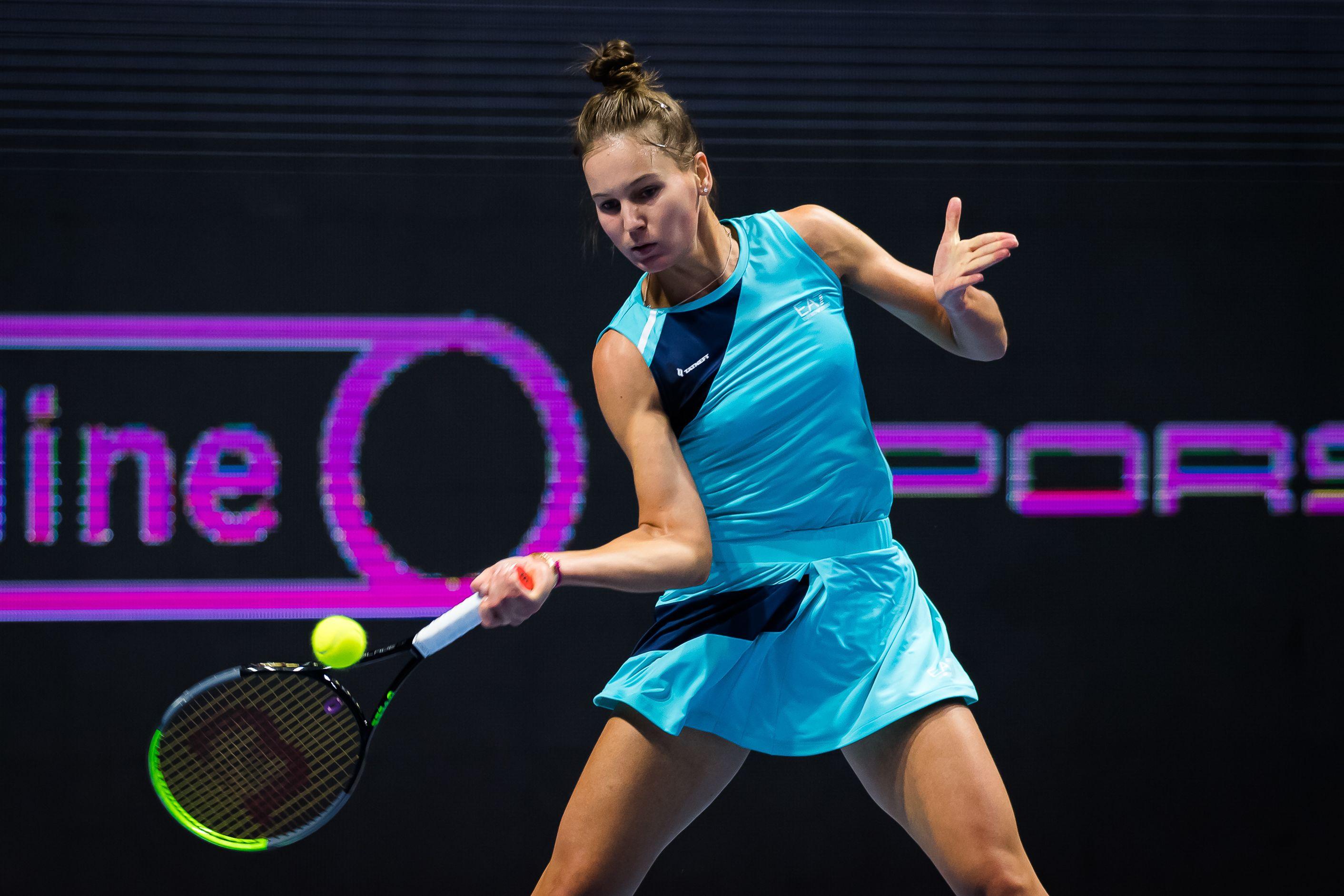 Кудерметова пробилась в 1/2 финала турнира в Чарльстоне