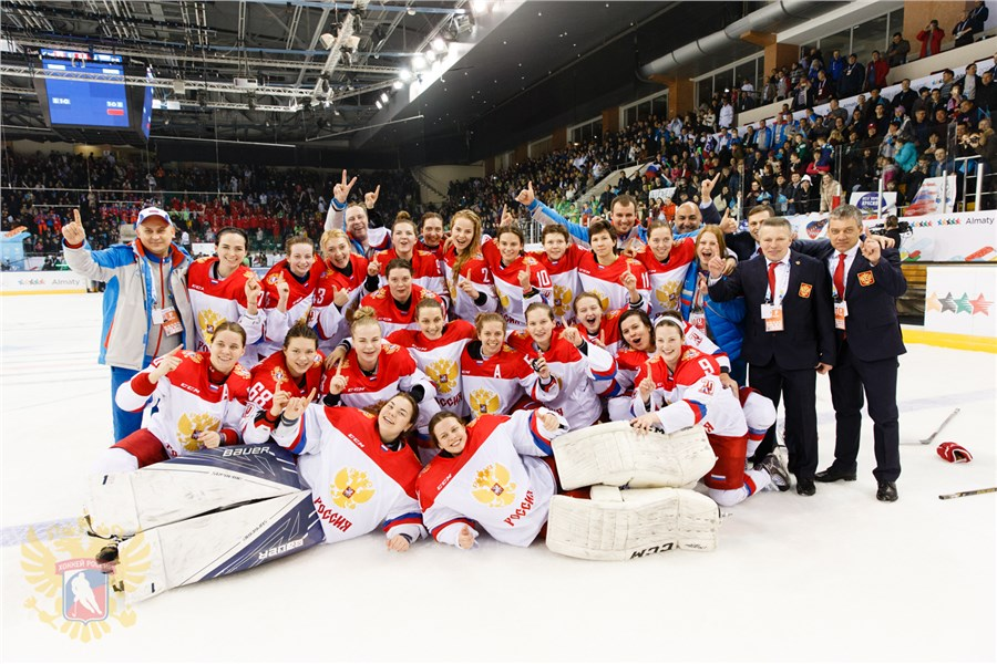 Назван расширенный состав женской сборной России по хоккею на ЧМ-2021