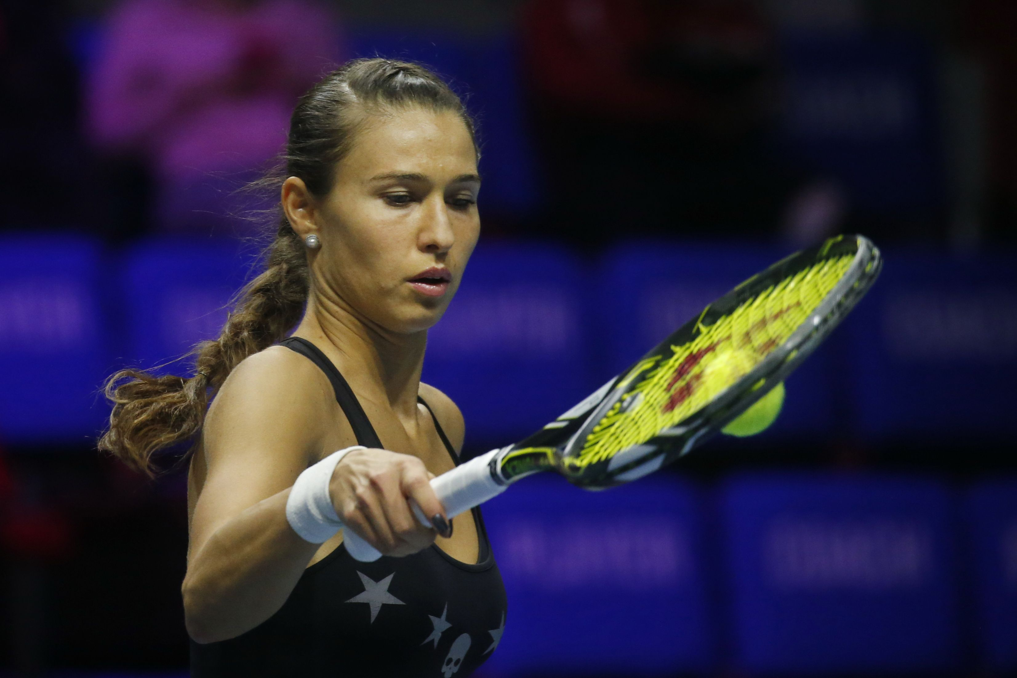 Вихлянцева проиграла в первом круге турнира в Чарльстоне