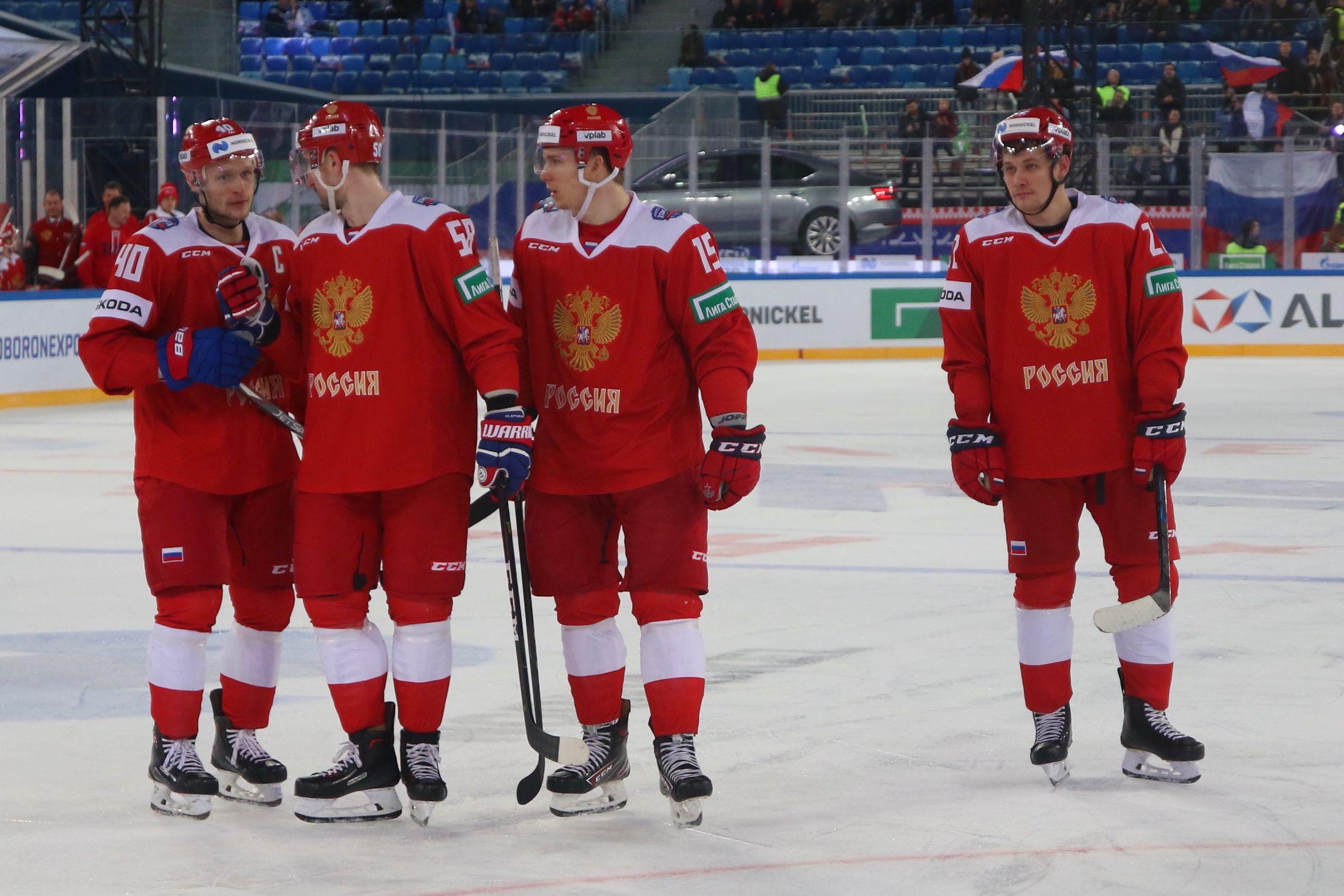 Сборный России и Белоруссии сыграют 23 апреля в Москве