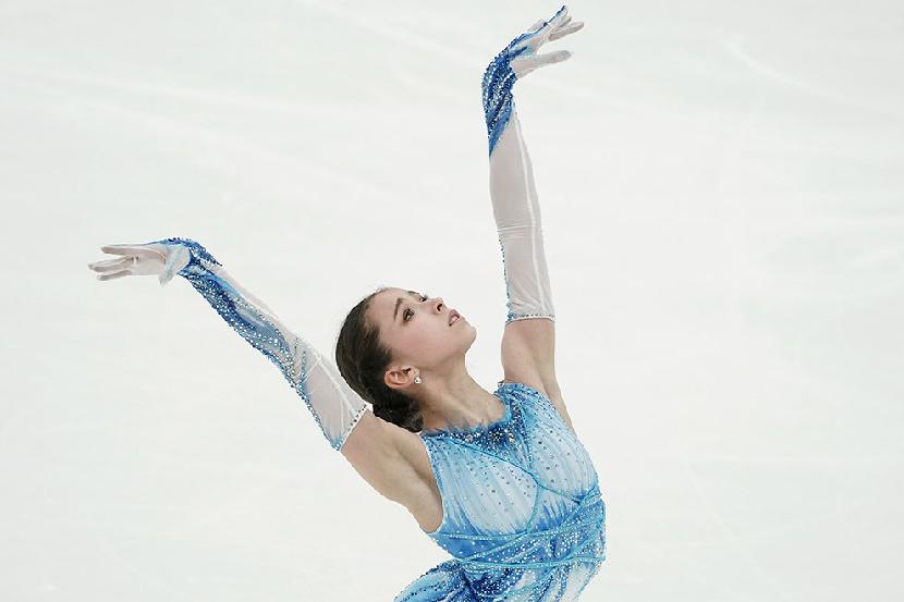 Валиева рассказала, что страшнее — четверные прыжки или американские горки