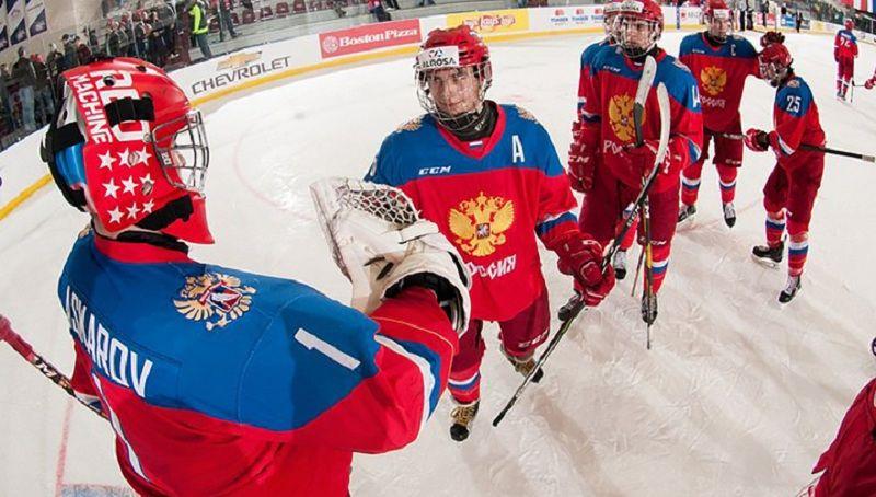 Стартовый состав юниорской сборной России на матч с Германией
